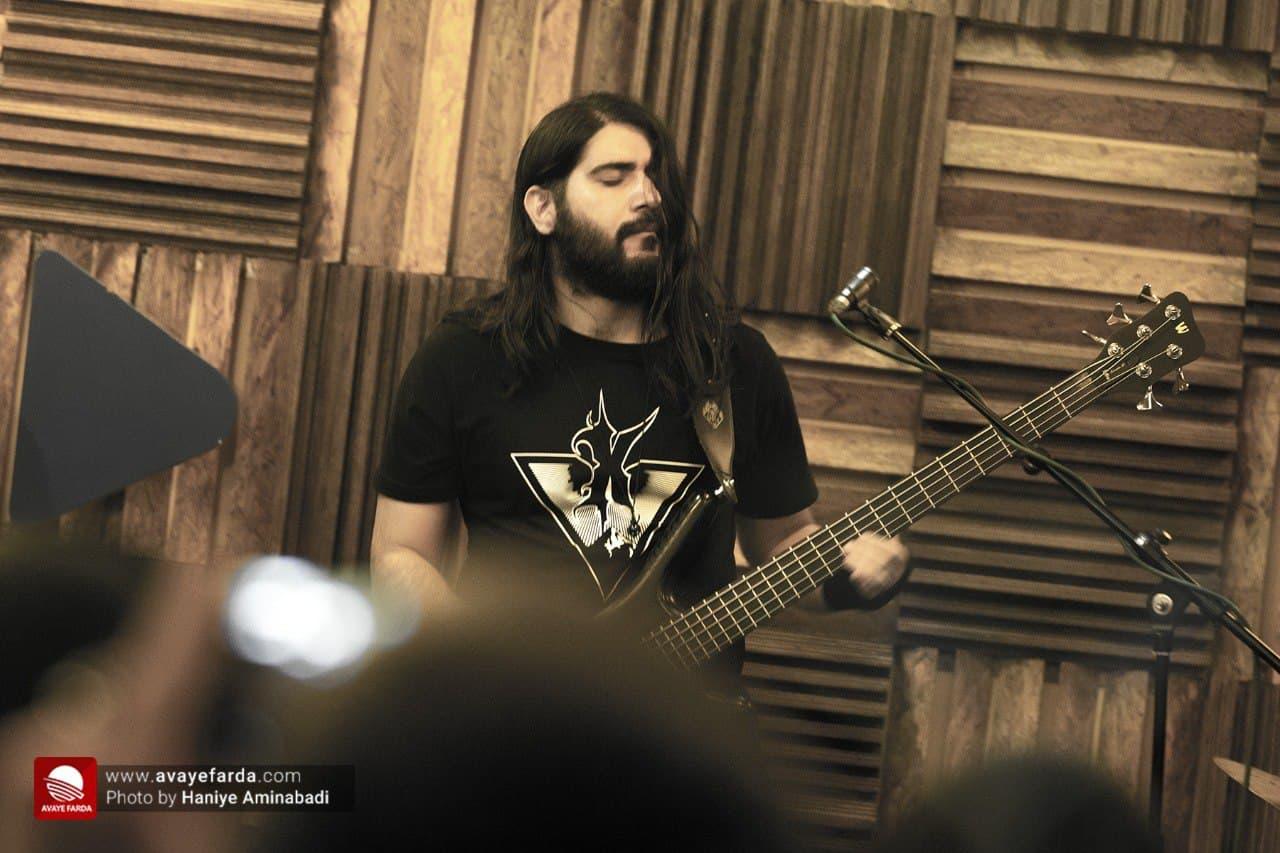 حامت فاضلی نوازنده گیتار بیس کوبار