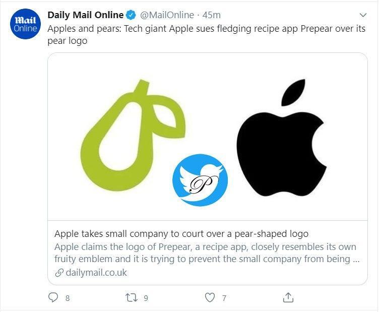 شکایت اپل