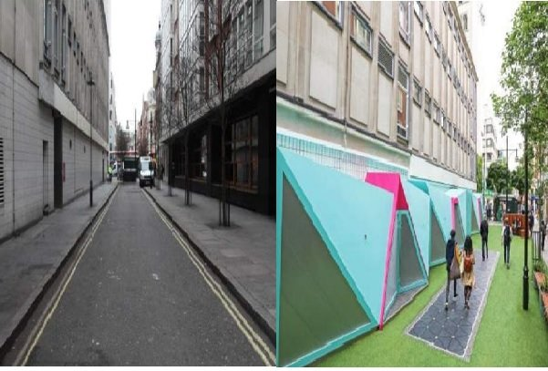 خیابانی در لندن