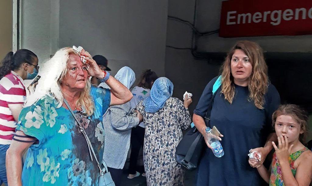 انفجار در بیروت 4