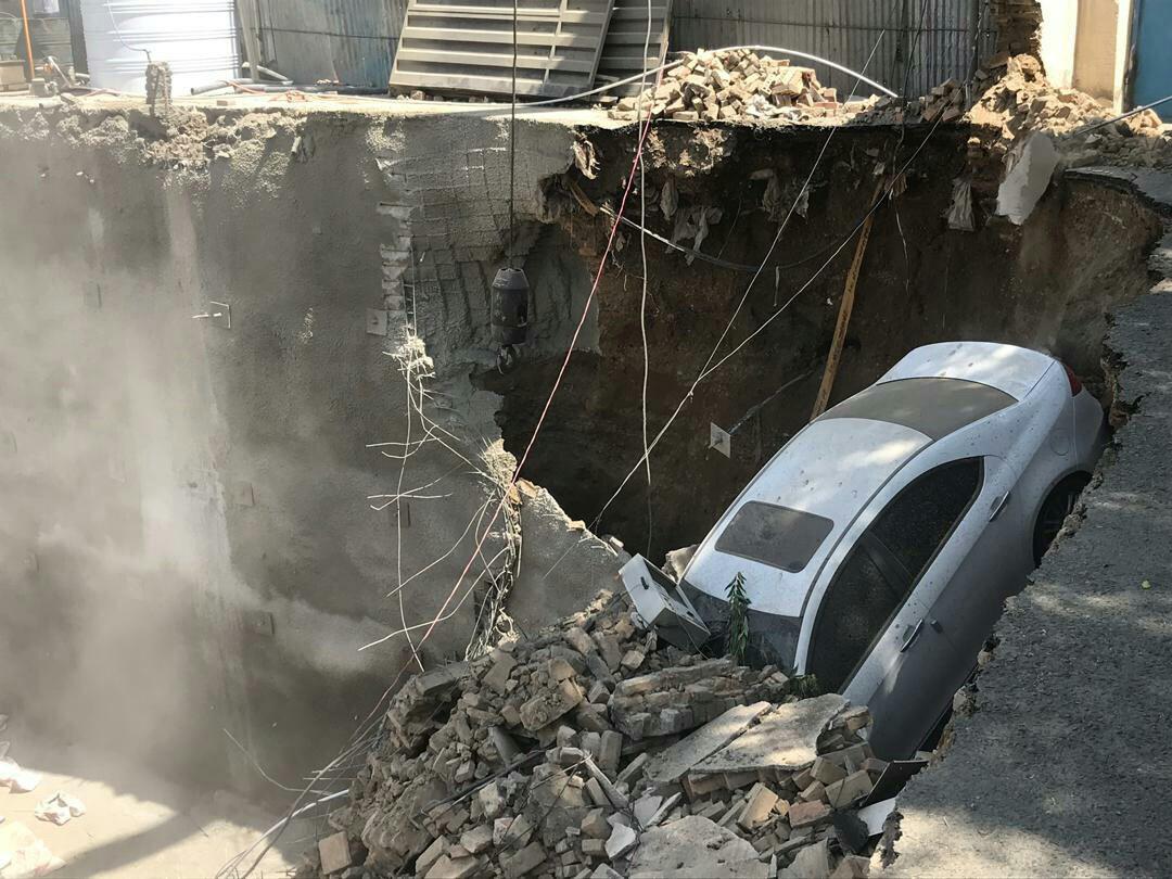 حادثه آوار ساختمان محله وردآور، خیابان طالقانی