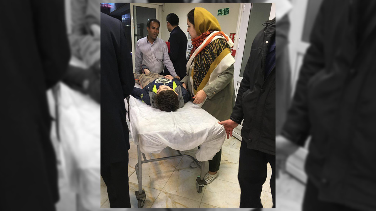 مصدومیت پسر بچه ٨ساله در تهران، سوختگی از ناحیه پا