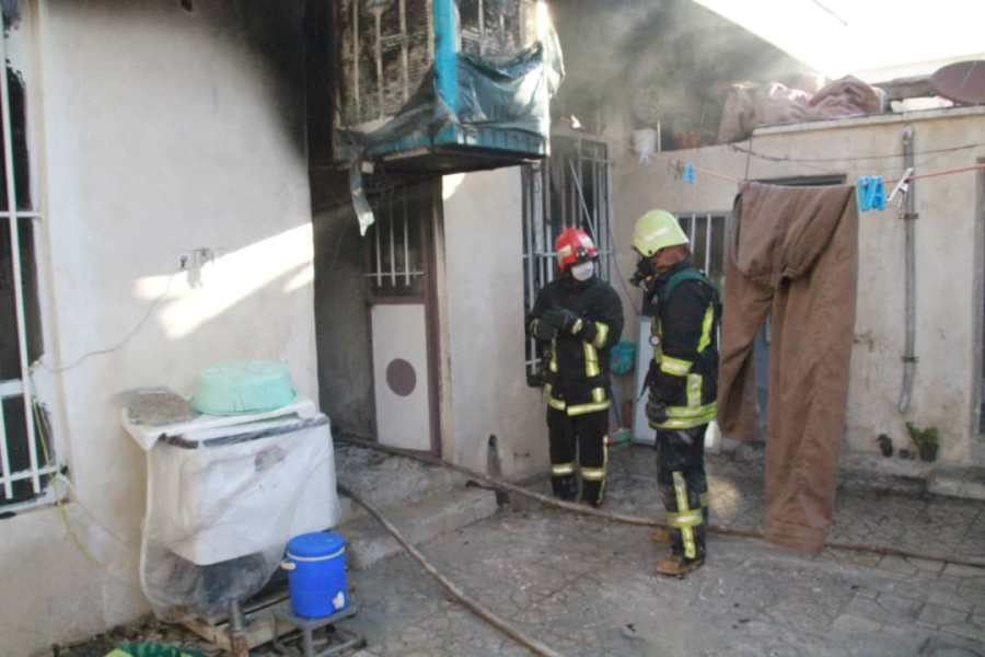 آتش سوزی در شیراز