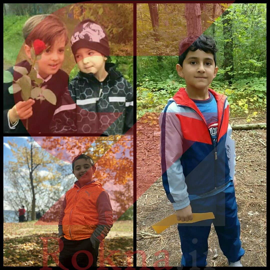 کودکانی که در سقوط هواپیمایی اوکراین حضور داشتند