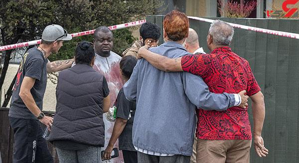 عکس شلیک گلوله در مسجد (1)