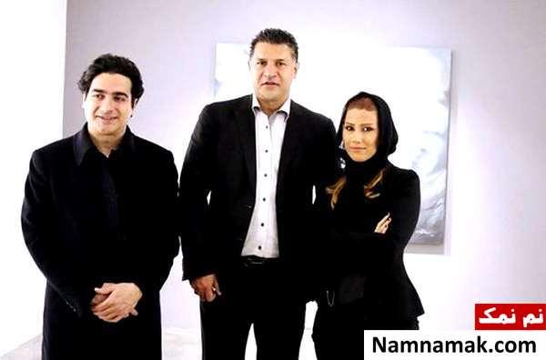 همایون شجریان و علی دایی و همسرش