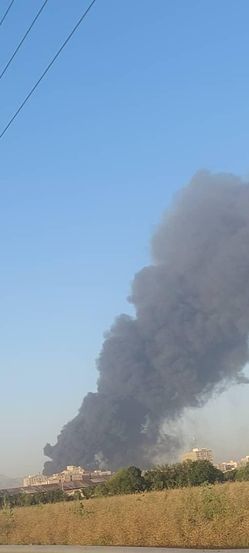 آتش سوزی پالایشگاه (2)
