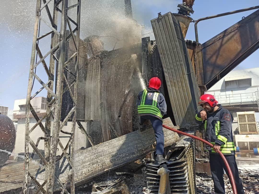 انفجار نیروگاه اهواز