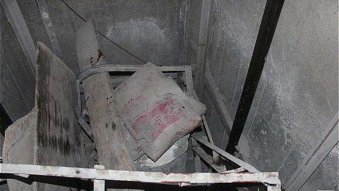 سقوط 7 طبقه ای بالابر حمل مصالح دو مصدوم بر جای گذاشت