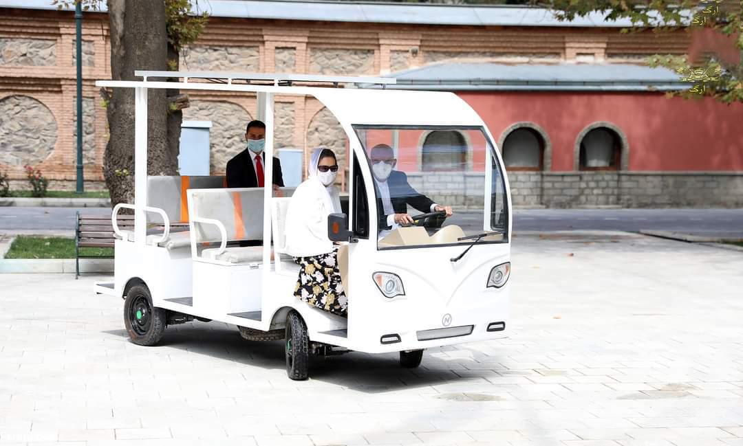 رانندگی رییس جمهور افغان
