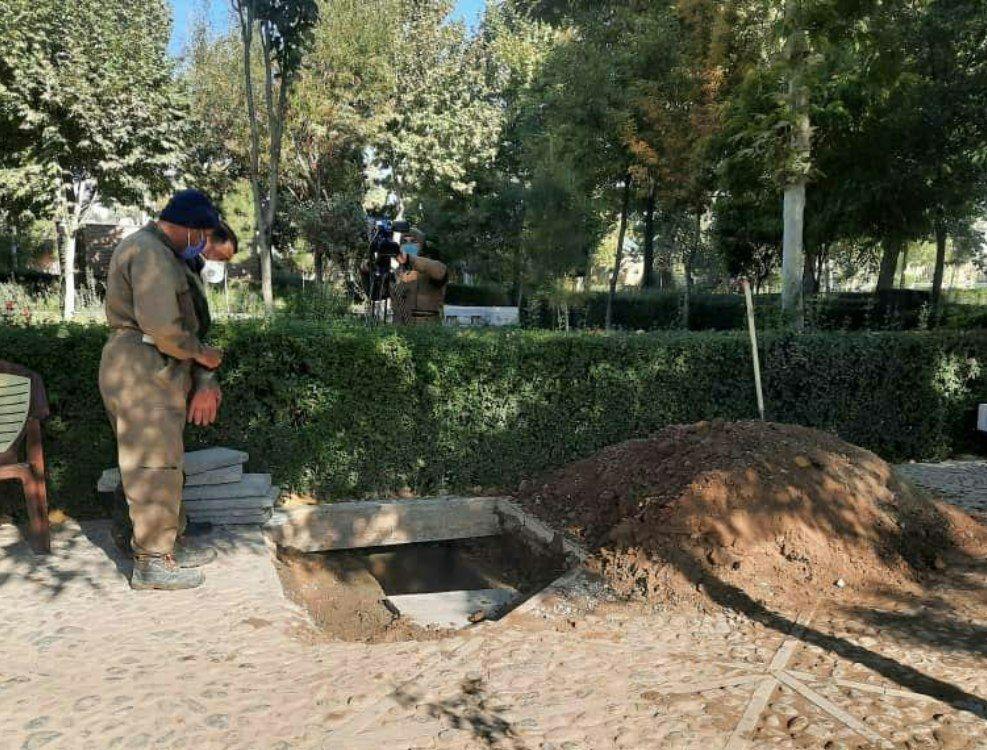 محل تدفین استاد محمد رضا شجریان - توس مشهد