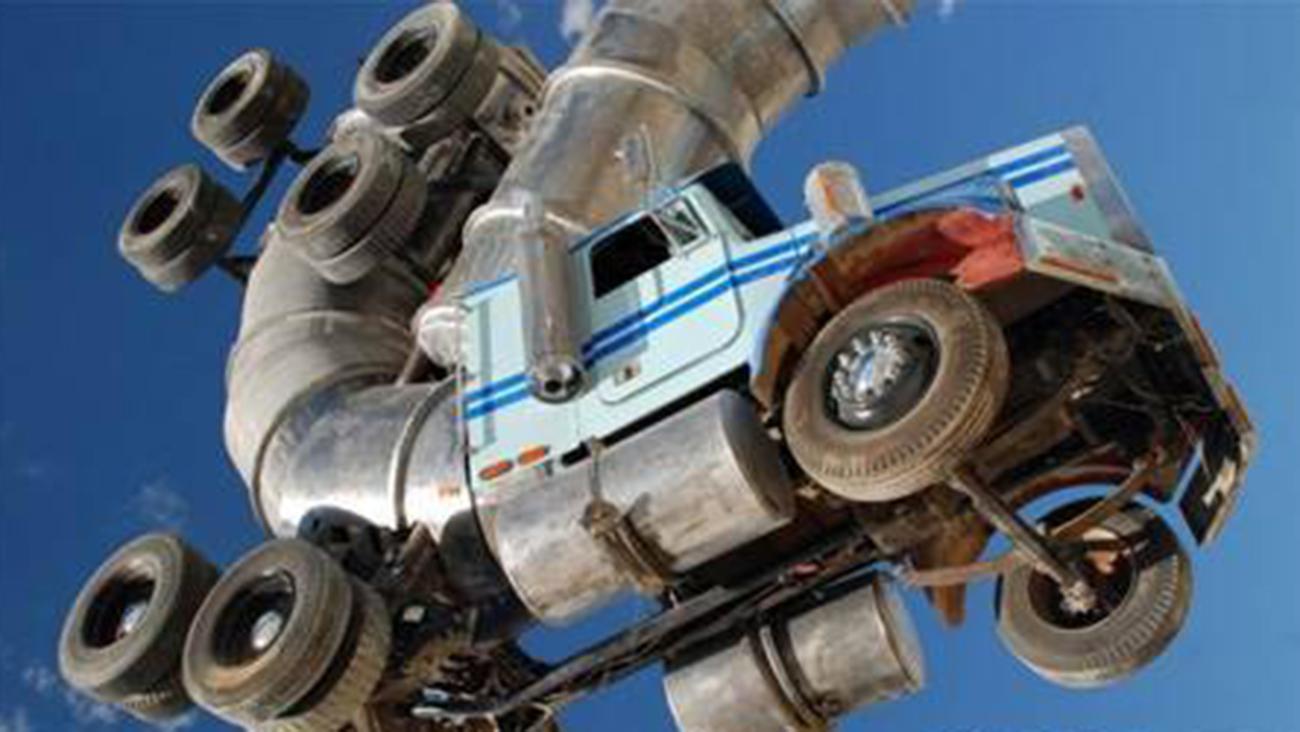 عجیب ترین کامیونها در دنیا (1)