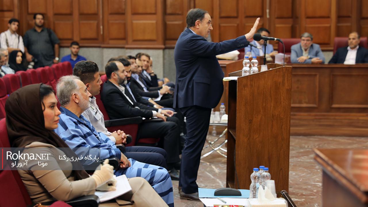 حمید گودرزی در سومین جلسه دادگاه نجفی