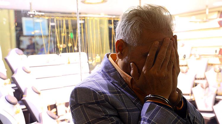 سارق طلا فروشی های تهران