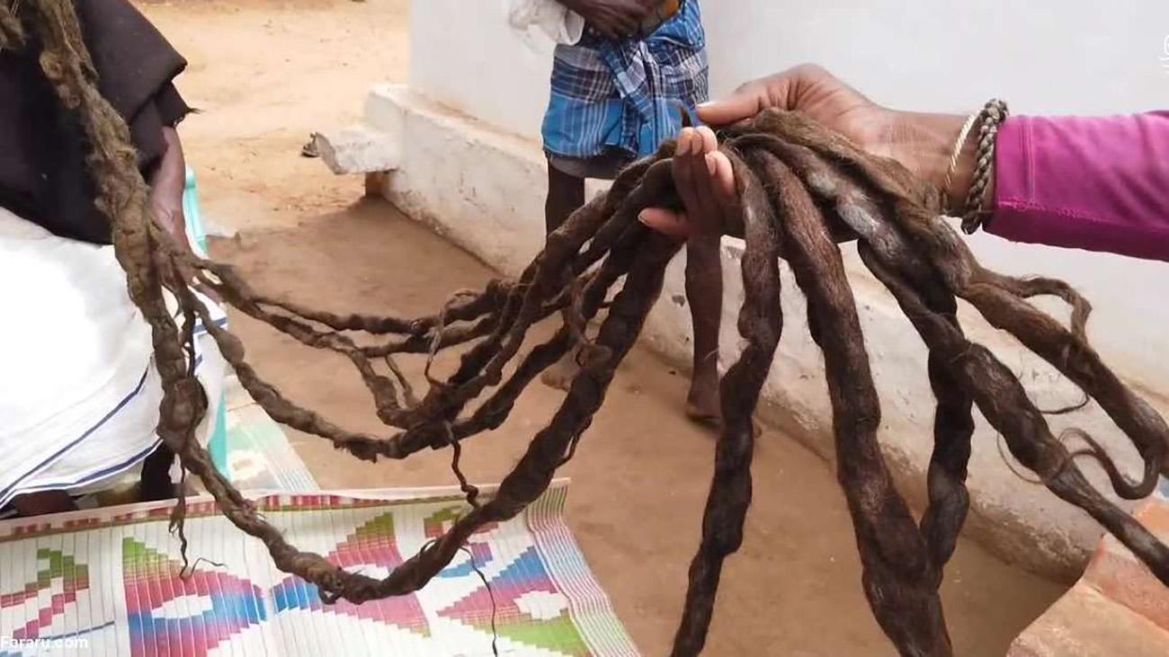 موهای بلند هندی
