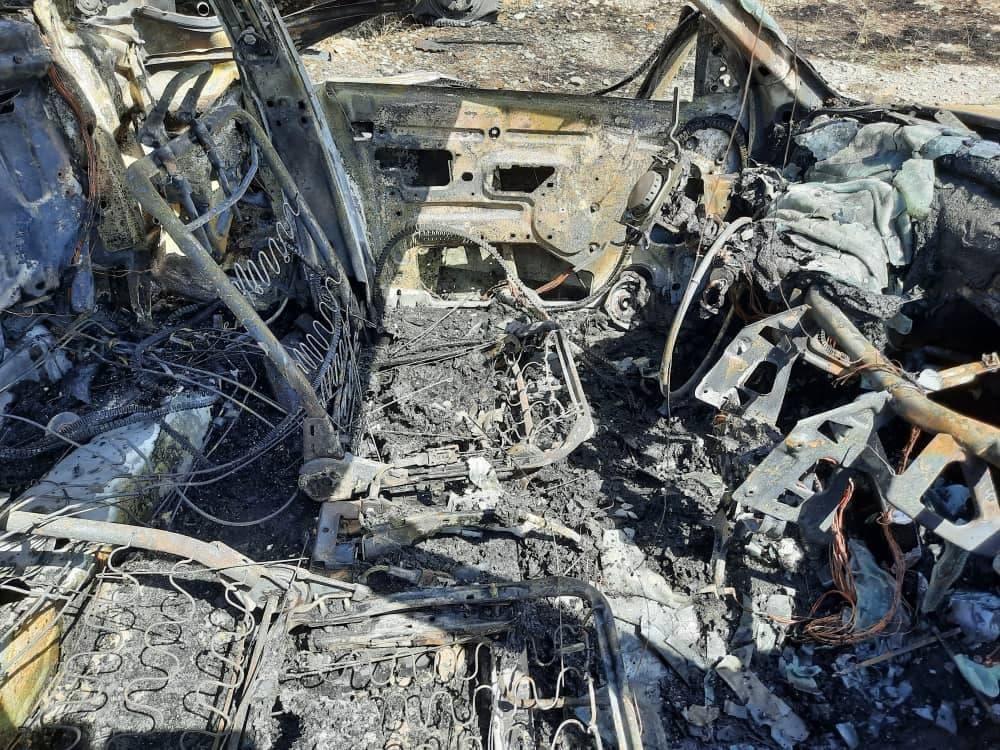 گرفتاری 4 زن و مرد تهرانی میان آتش در بزرگراه شهید همدانی