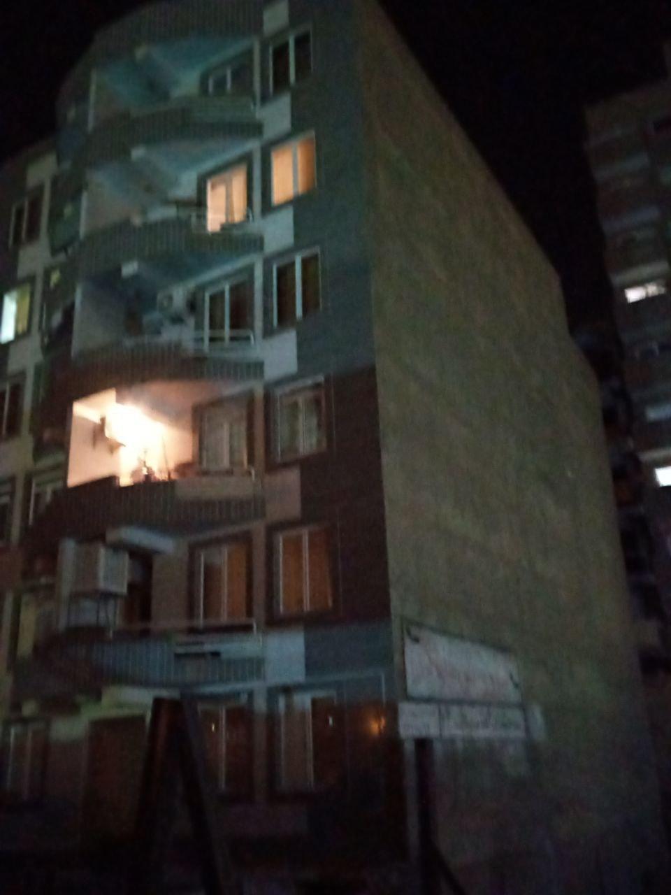 فرو ریختن ساختمان