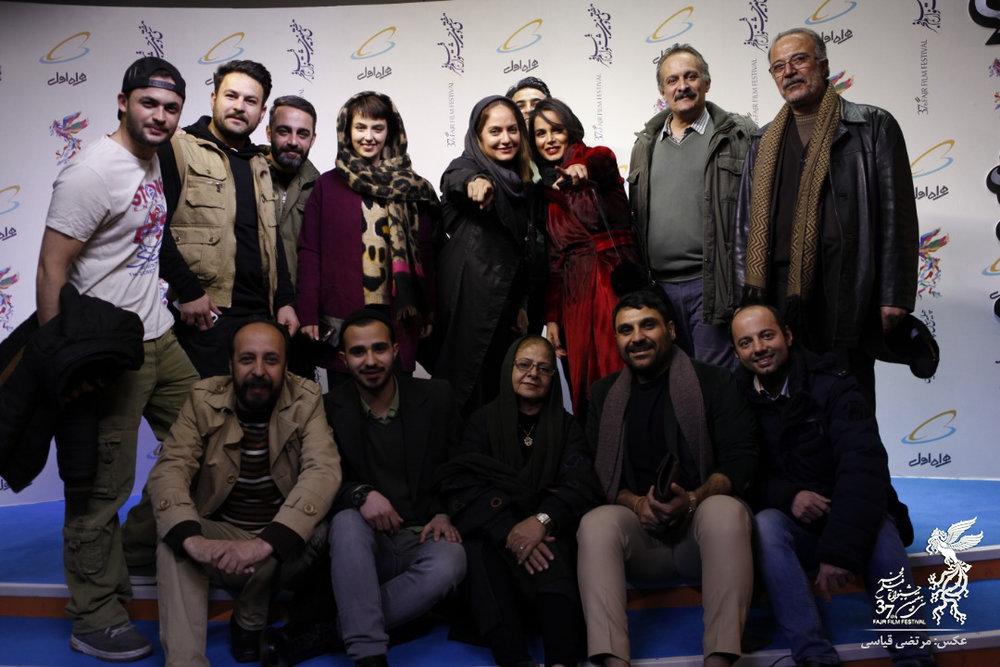 مهناز افشار و محسن تنابنده در پردیس سینمایی چارسو