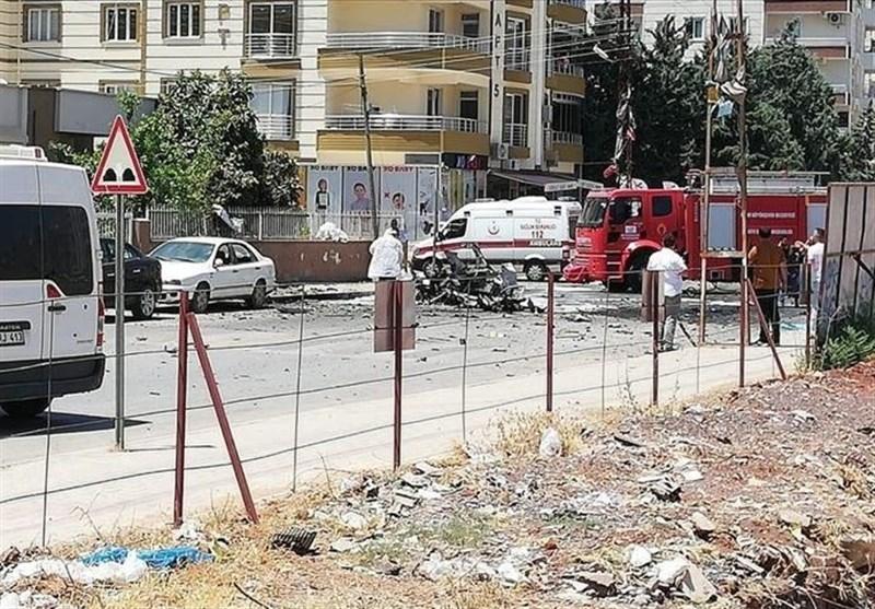 انفجار ترکیه