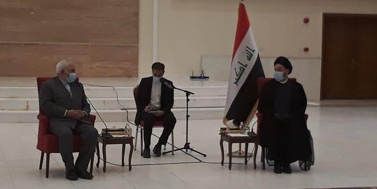 دیدار ظریف با همتای عراقی
