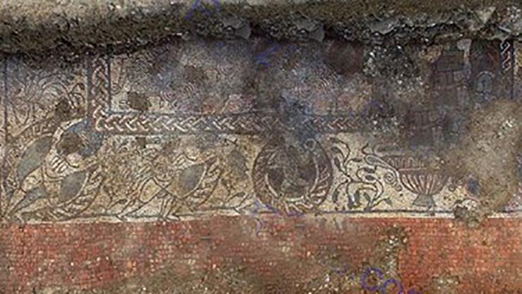 کشف موزائیک هزار و 600 ساله