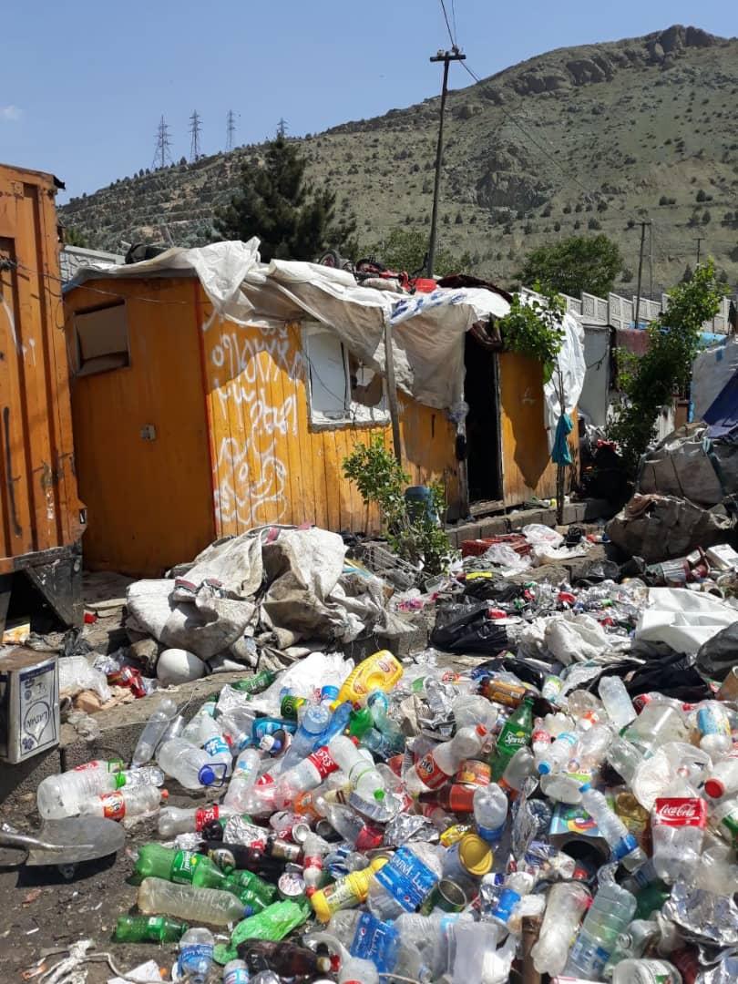 رسیدگی ویژه شورای شهر کرج به وضعیت کودکان زباله گرد افغان