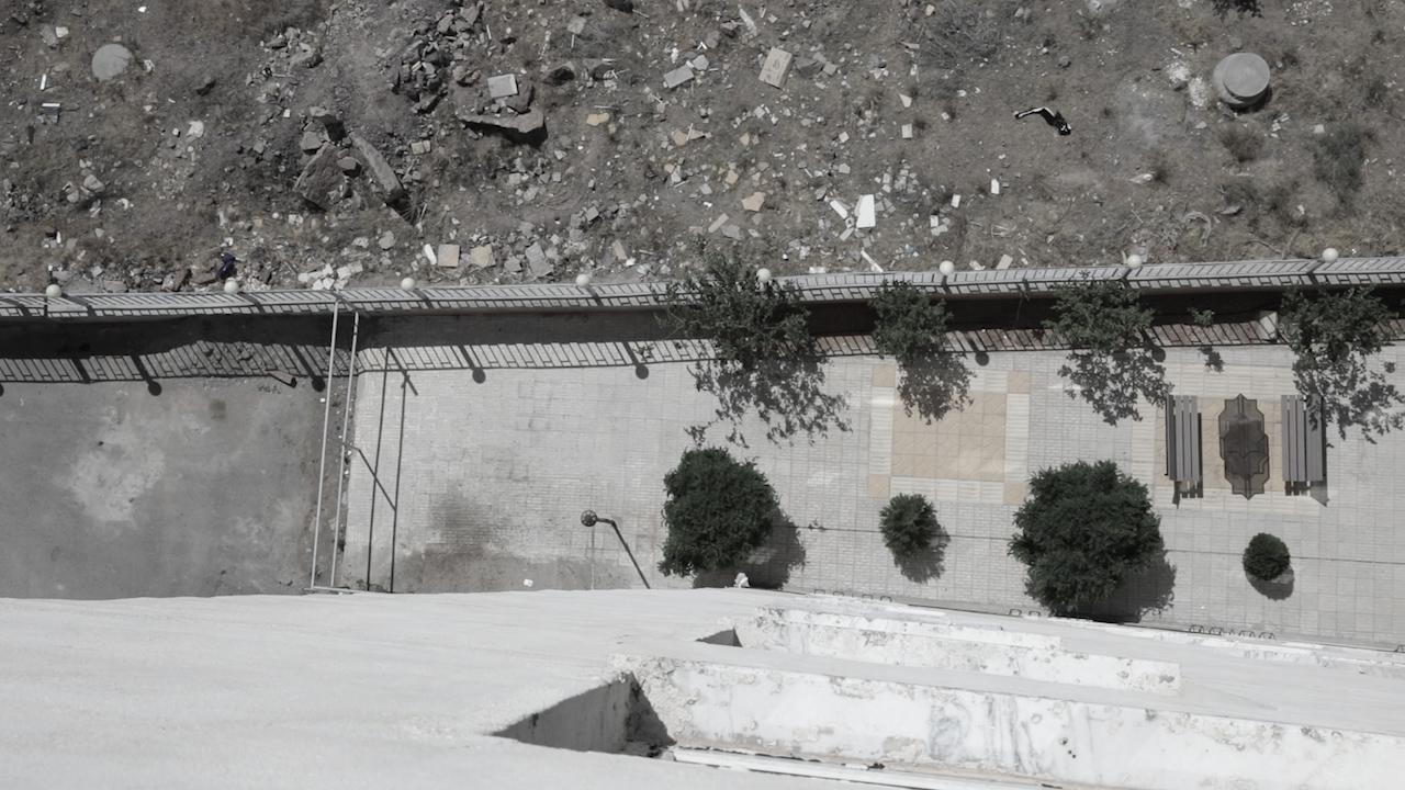 ارتفاع ساختمانی که فاطمه از آن سقوط کرد