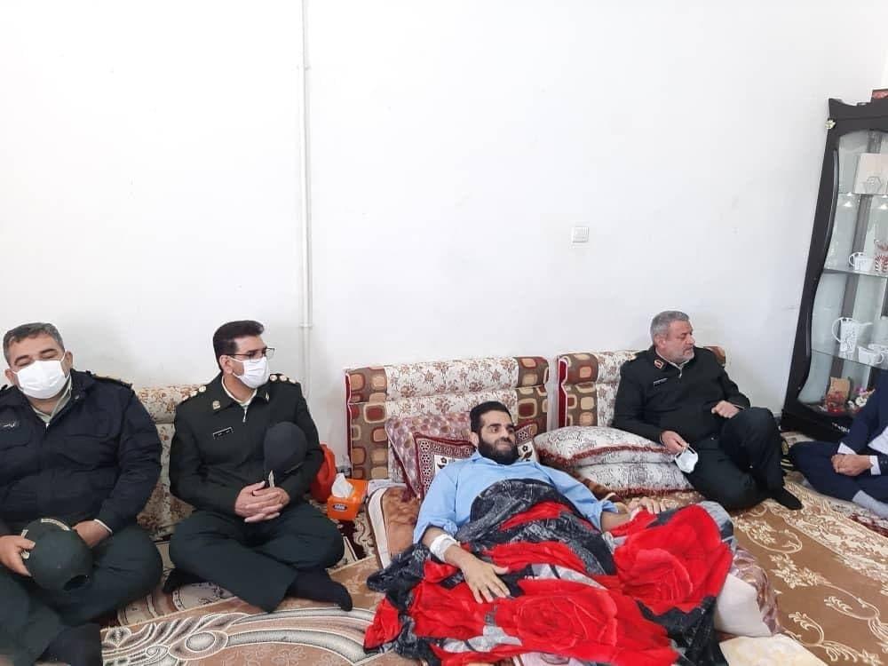 فیلم لحظه ترور رئیس پلیس موادمخدر خرمشهر توسط اشرار مسلح