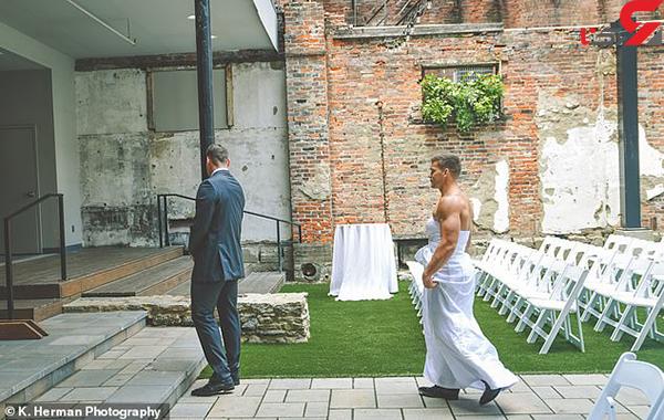 عکس غافلگیری عروس (5)