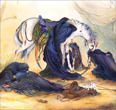 تاثیرگذارترین نقاشی عاشورایی