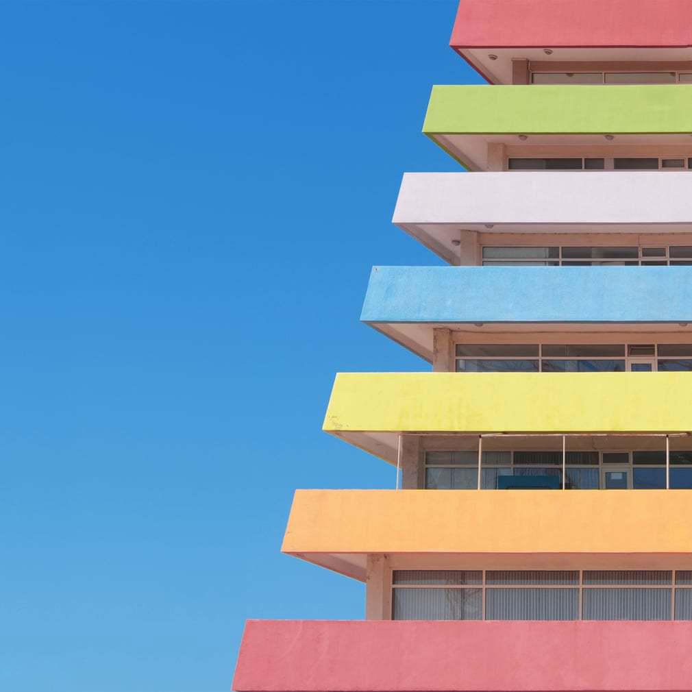 ساختمان رنگی 10