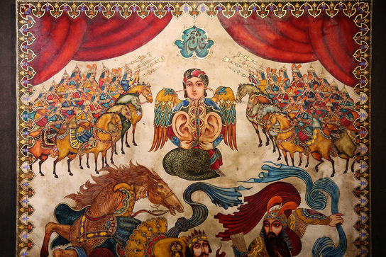 نقاشی سعید خضایی