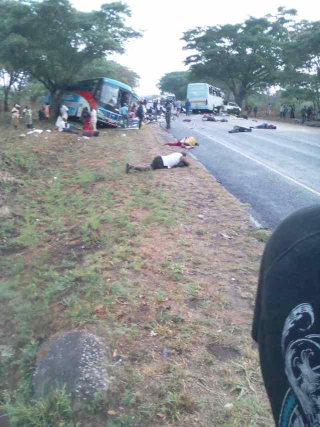 47 کشته / تصادف / زیمباوه /