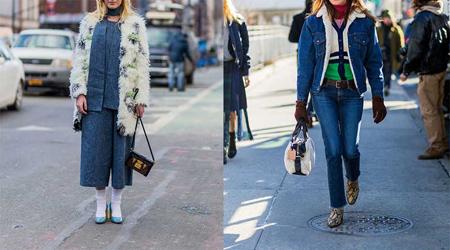 ست کردن لباس جین (2)