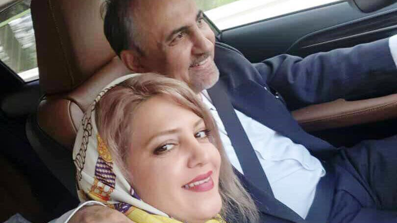 همسر دوم شهردار سابق نجفی فیلم