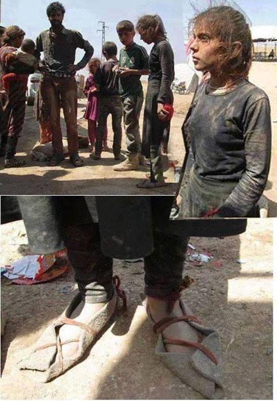 اسارت دردناک دختر ۱۰ ساله توسط داعشیها