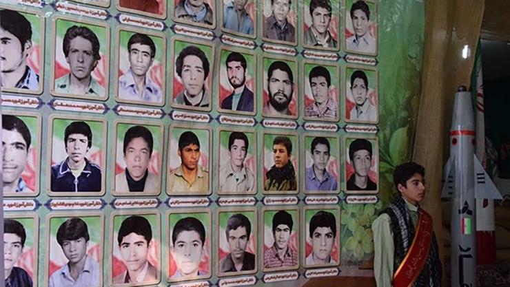 234 شهید / دانش آموز / از / یک / مدرسه