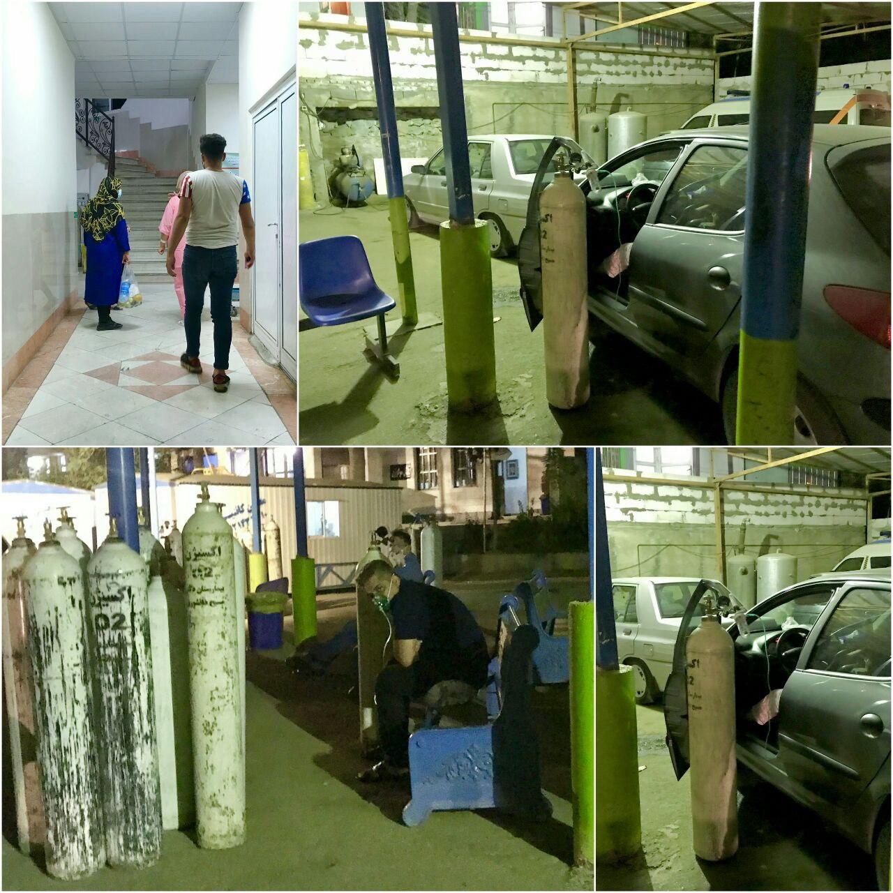 پارکینگ بیمارستان مسیح دانشوری و کرونا