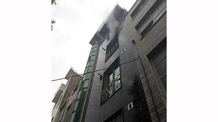 آتش سوزی پیروزی