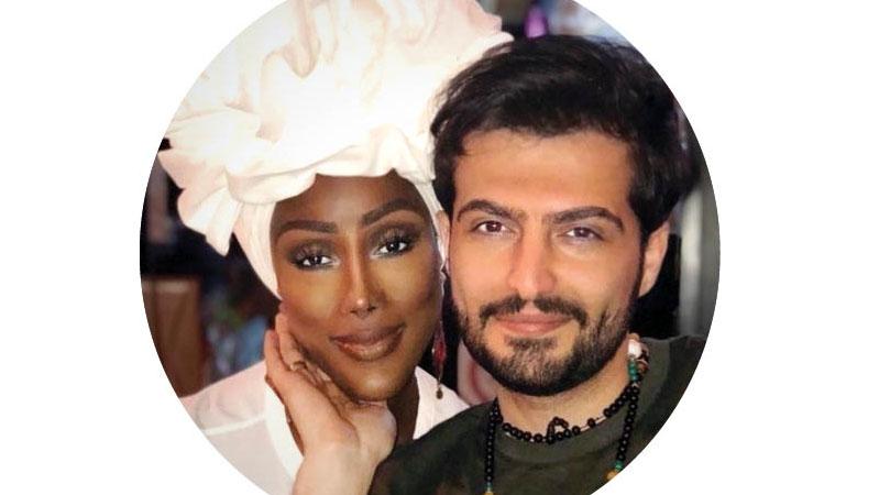 عکس ازدواج پسر ایرانی با ملکه زیبایی
