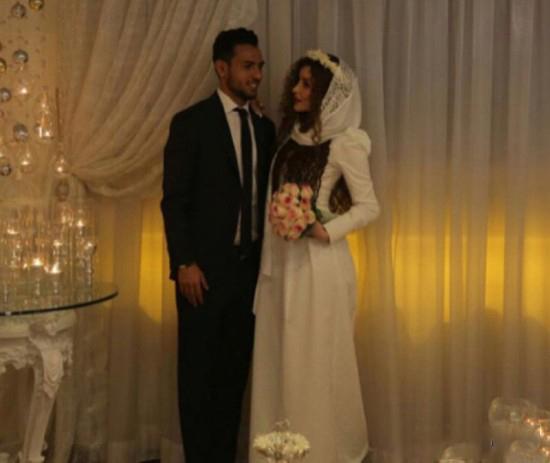 یعقوب کریمی و همسرش
