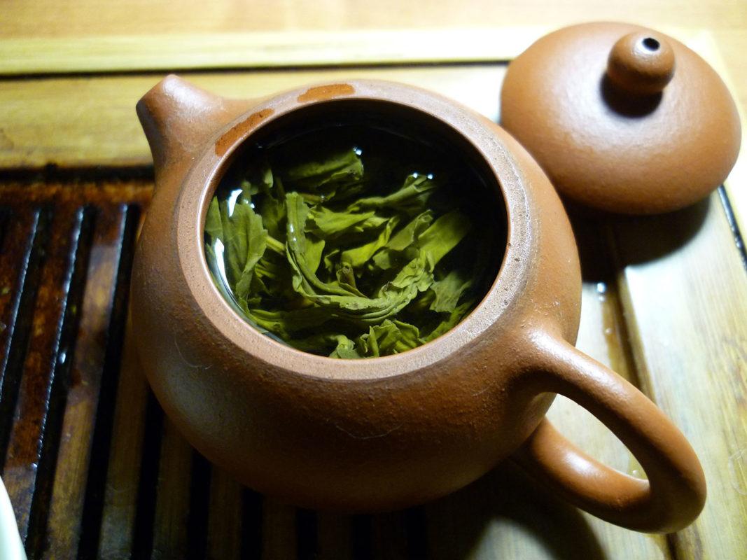 چای سبز موثر در لاغری