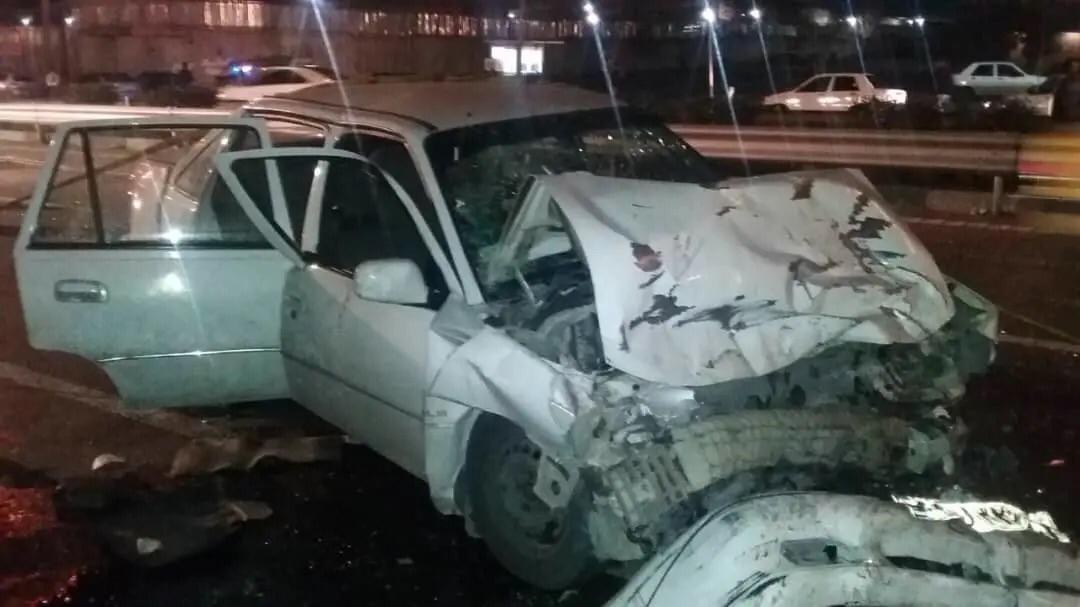 برخورد مرگبار ۲۰۶ با دوو در یاسینی