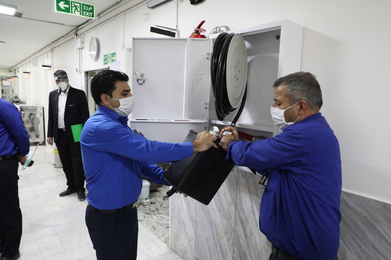 گام های عملیاتی و مستمر آتش نشانی مشهد