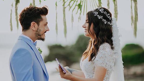 عروسی دنیز بایسال بازیگر مشهور و باریش یارتسو خواننده ترک