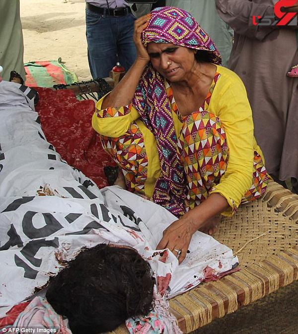 عکس قتل خواهر پاکستانی (1)