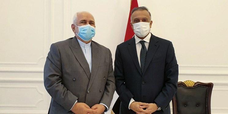 ظریف و همتای عراقی