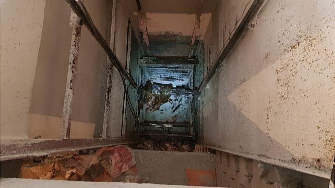 کارگر ساختمانی 9 طبقه سقوط کرد و جان داد