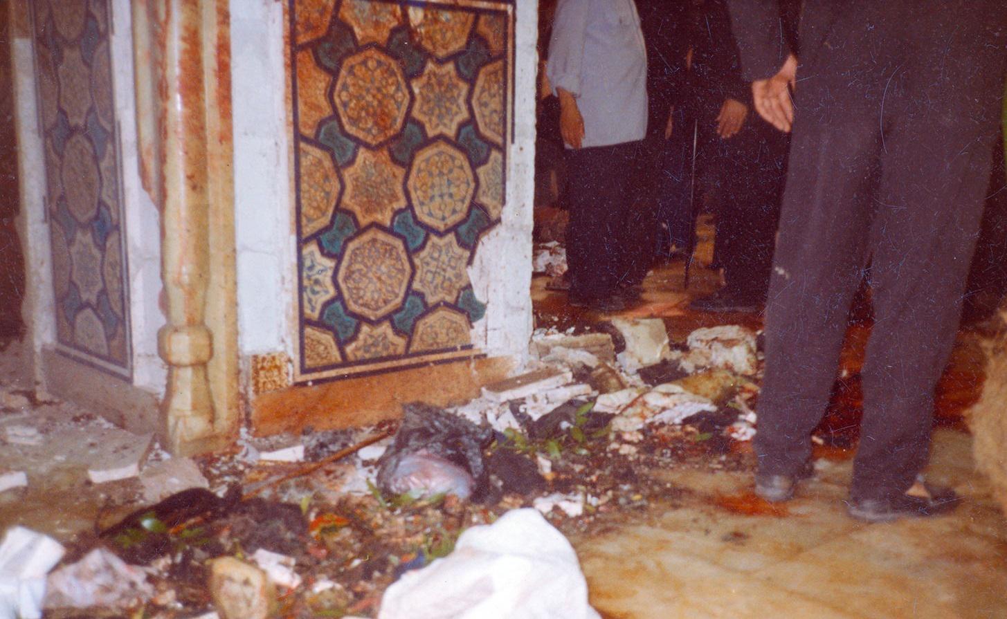 Image associée بمب گذاری حرم در مشهد