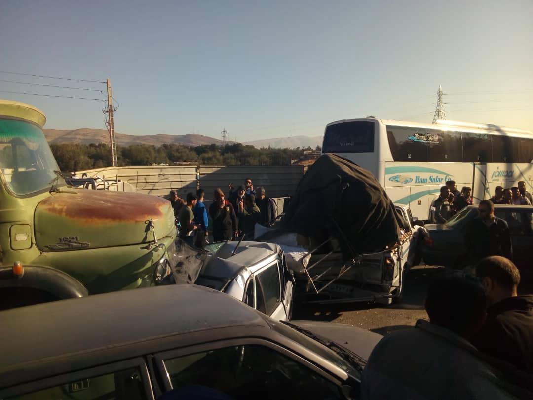تصادف در شیراز 3